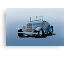 1932 Ford 'Baby Blue' Roadster Canvas Print