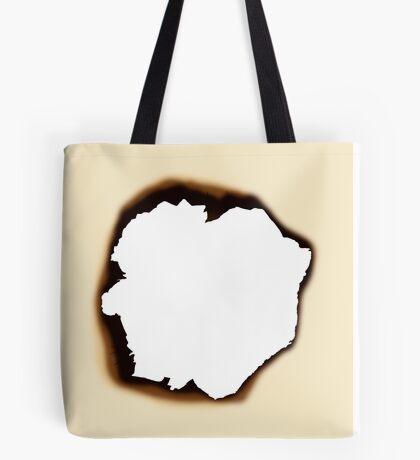 Burnt Hole Tote Bag