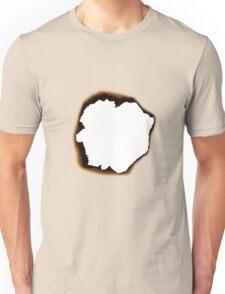 Burnt Hole Unisex T-Shirt
