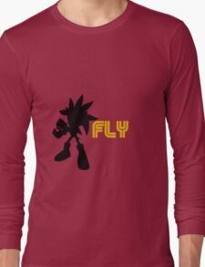 Fly Type: Silver Long Sleeve T-Shirt