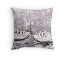 Lost Property Throw Pillow