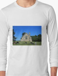 Back of a Stone Church Long Sleeve T-Shirt