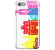 Valletta skyline pop iPhone Case/Skin