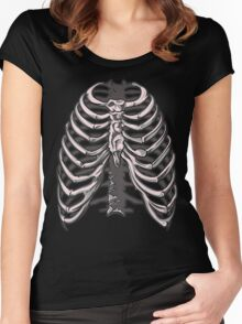 Ribs 6 Women's Fitted Scoop T-Shirt