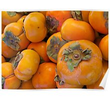 Japanese persimmons Poster