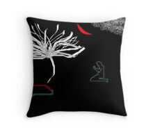 this is titled 'the seeker' Throw Pillow