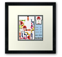 TOFTRIS Framed Print