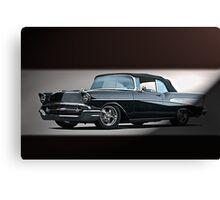 1957 Chevrolet Convertible Canvas Print