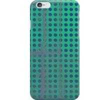 Green & Blue Polka dots iphone case  iPhone Case/Skin