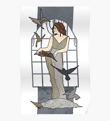 Cinderella´s chores Nouveau Old Stories Poster