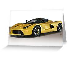 Ferrari F150 LaFerrari VSI Greeting Card