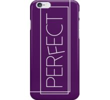 One Direction - Perfect [WHITE] iPhone Case/Skin