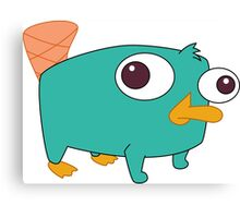 Baby Perry! Canvas Print