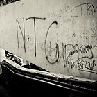 Graffiti at the Tongan Market by Jan  Stroup ~ Photojournalist