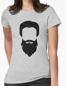Men's Beard and Hair Womens Fitted T-Shirt