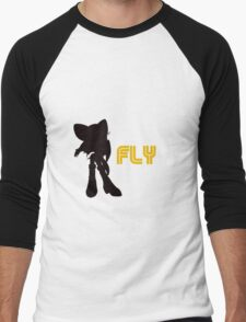 Fly Type: Rouge Men's Baseball ¾ T-Shirt