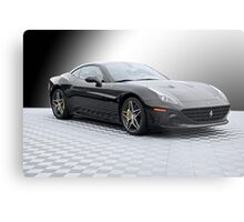 2015 Ferrari California 'Study in Black' Metal Print