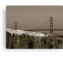 Golden Gate From China Beach Canvas Print