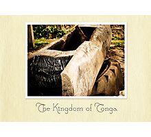 Tongan Telephone Photographic Print