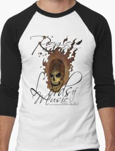 lords of music by rogers bros Men's Baseball ¾ T-Shirt