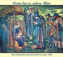 Edward Burne-Jones' The Star of Bethlehem by Harveylee