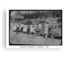 Weekend at Tatra Mountains . Głodówka. Poland . 1961, Hmm... 50 years ago. My autobiography. Views (171) thanks!   featured in1950+ Planes Trains n Automobiles. Canvas Print
