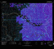 USGS Topo Map Washington State WA Skykomish River 243753 1975 100000 Inverted by wetdryvac