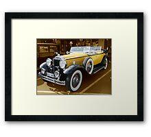 1930, Model 733 Dual Cowl Phaeton Framed Print