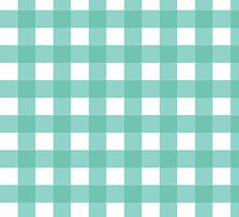 Pale Blue Gingham by rupydetequila