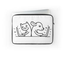 Cat & Dog Internet Users Laptop Sleeve