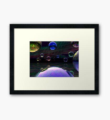 Somewhere Else Over the Rainbow Framed Print