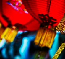 Red Lanterns by JoeMorningstar