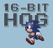 Sonic - 16-Bit Hog by TGIGreeny