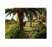 Paradise in Majorca Art Print