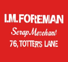 I.M.FOREMAN - Totters Lane Kids Clothes