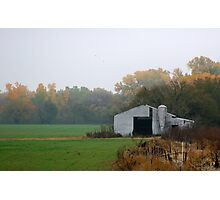 Lonely Barn Photographic Print