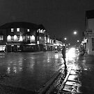 Wet Evening, Salisbury Road Cardiff (1) by Artberry