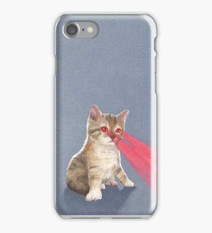 Laser Kitten iPhone Case/Skin