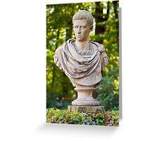 Roman emperor Caligula. Greeting Card