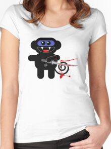 NINJAMUNKY Women's Fitted Scoop T-Shirt