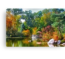 October Finery Canvas Print
