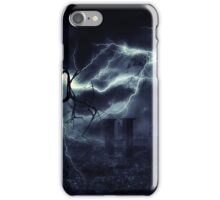 Storm over Field 2 iPhone Case/Skin