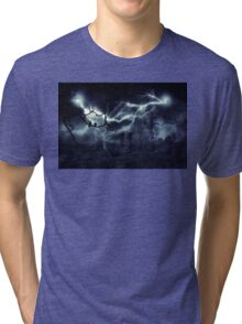 Storm over Field 2 Tri-blend T-Shirt