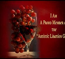Proud Member Artistic Libation by Carmen Holly