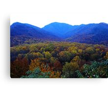 On Top of Old Smoky Canvas Print