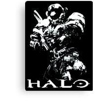 White Halo Canvas Print