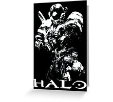 White Halo Greeting Card