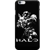White Halo iPhone Case/Skin
