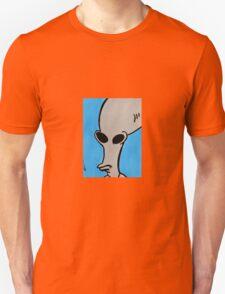Roger the Alien from American Dad - Full Alien Face Unisex T-Shirt