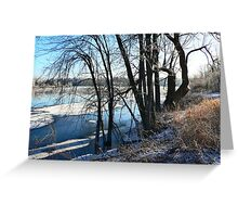 Winter Solstice, A New Beginning Greeting Card